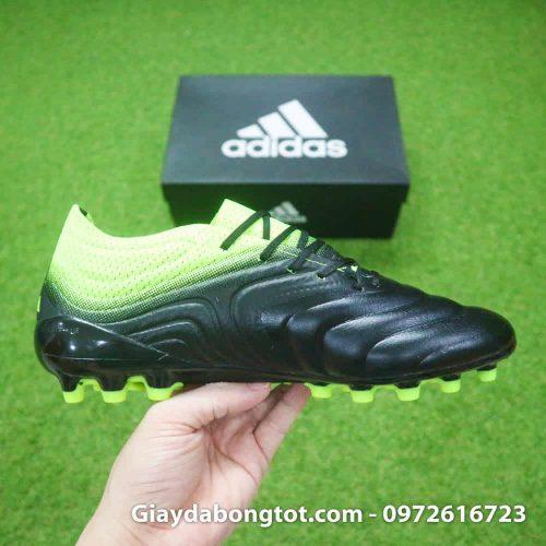 Giay bong da da mem Adidas Copa 19.1 AG den chuoi 2019 (11)