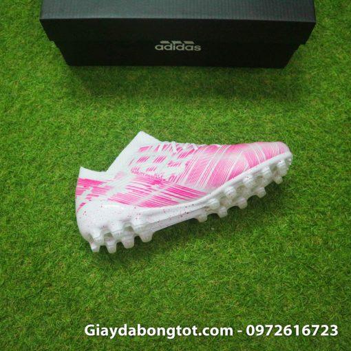 Giay da banh Adidas Nemeziz 18.1 AG hong trang (1)