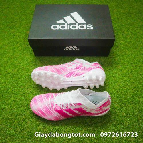 Giay da banh Adidas Nemeziz 18.1 AG hong trang (2)