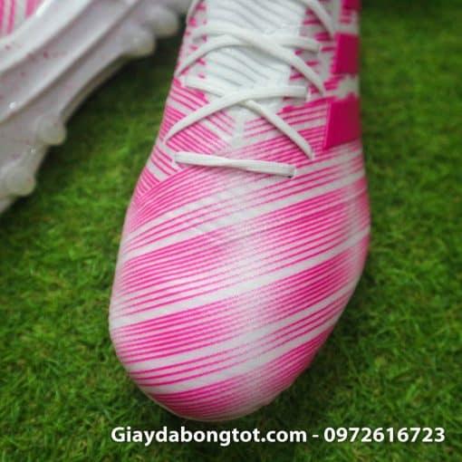 Giay da banh Adidas Nemeziz 18.1 AG hong trang (5)