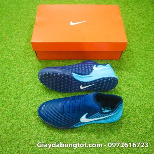 Giay da banh Nike Magista X TF tim than got xanh (2)