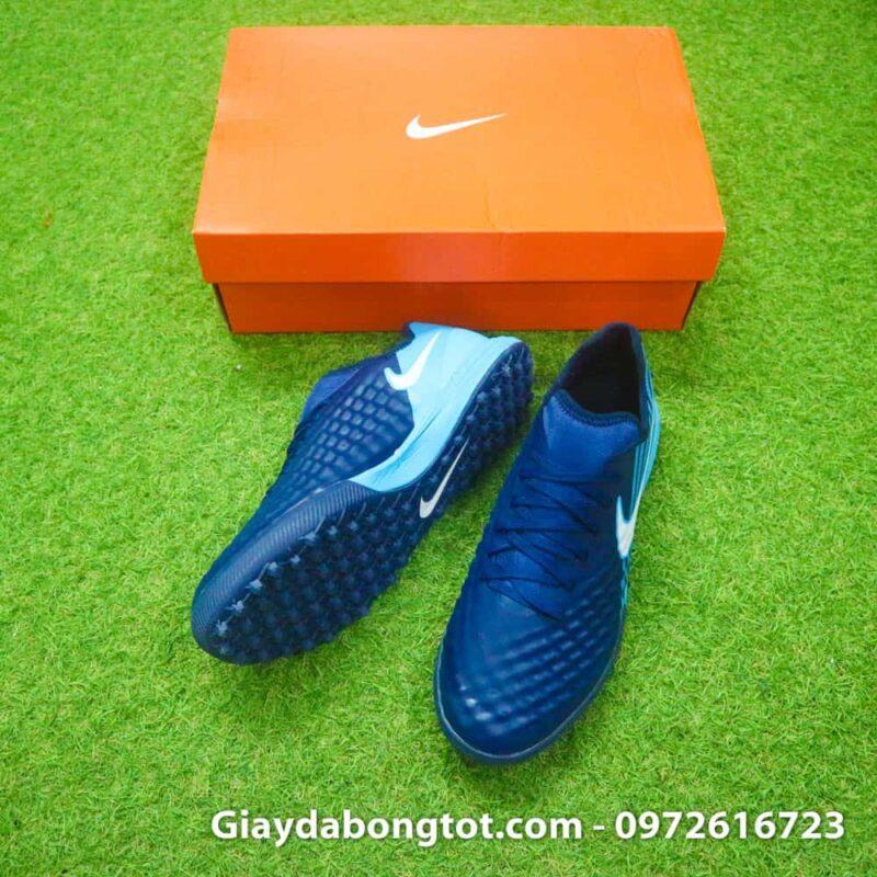 Giay da banh Nike Magista X TF tim than got xanh (3)