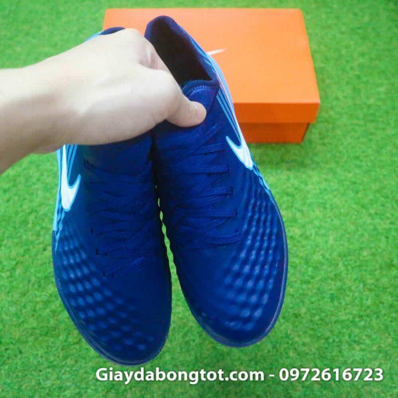 Giay da banh Nike Magista X TF tim than got xanh (8)