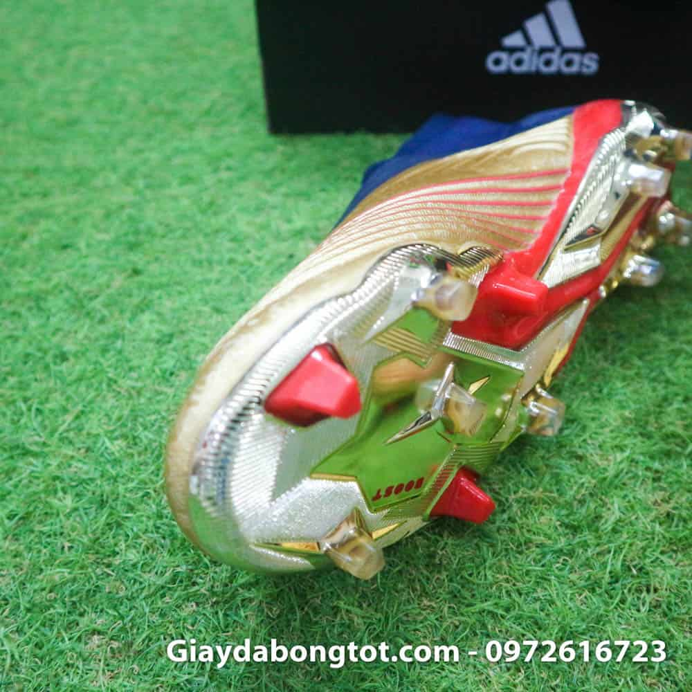 Bộ đế giày mạ cực đẹp của giày đá banh Adidas Predator 19+ phiên bản Zidane