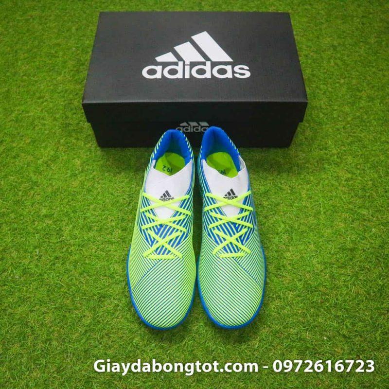 Giay da banh san co nhan tao Adidas Nemeziz 19.3 TF chuoi soc den (6)