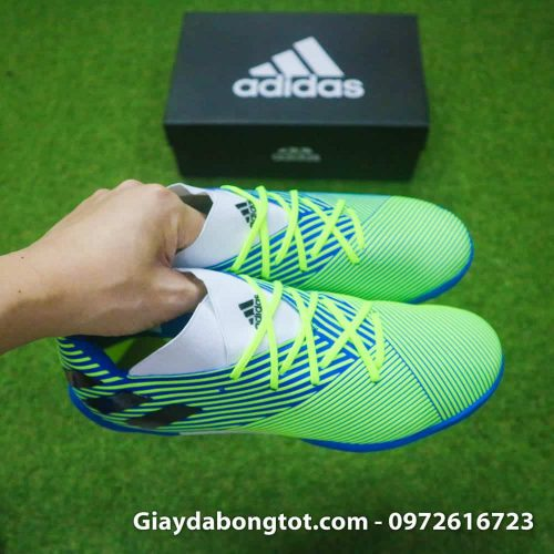 Giay da banh san co nhan tao Adidas Nemeziz 19.3 TF chuoi soc den (7)