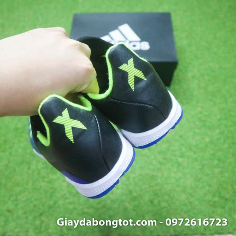 Giay da banh san co nhan tao Adidas X18.3 TF xanh duong (1)
