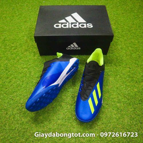 Giay da banh san co nhan tao Adidas X18.3 TF xanh duong (3)