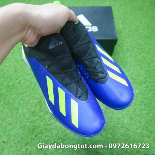 Giay da banh san co nhan tao Adidas X18.3 TF xanh duong (5)