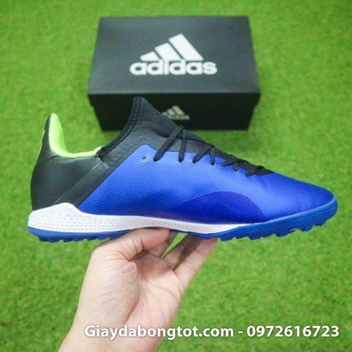 Giay da banh san co nhan tao Adidas X18.3 TF xanh duong (7)