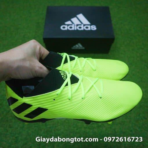 Giay da bong Adidas Nemeziz 19.3 FG vang chuoi da mem mong (6)