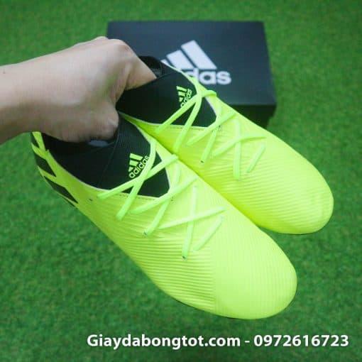 Giay da bong Adidas Nemeziz 19.3 FG vang chuoi da mem mong (7)