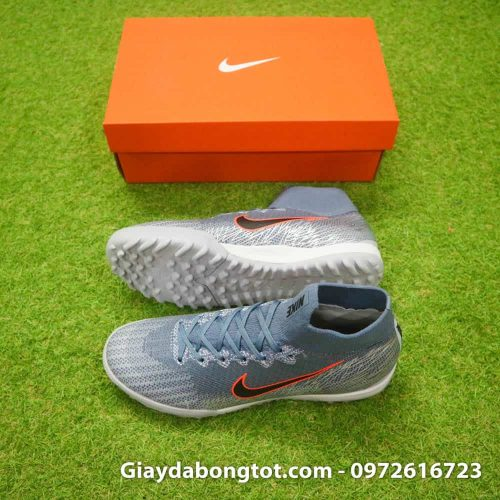 Giay da bong Nike cao co Mercurial Superfly 6 TF xam Victory Pack 2019 (2)