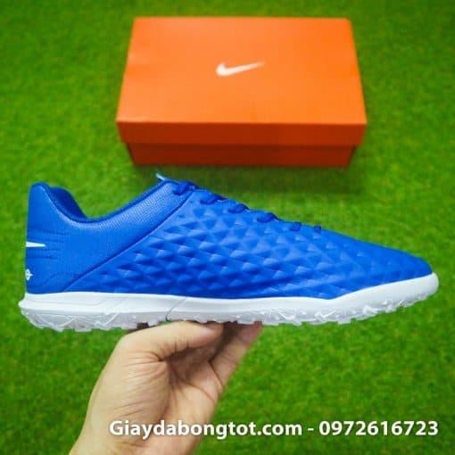 Giay da bong chan be Nike Tiempo 8 Pro TF xanh duong (1)
