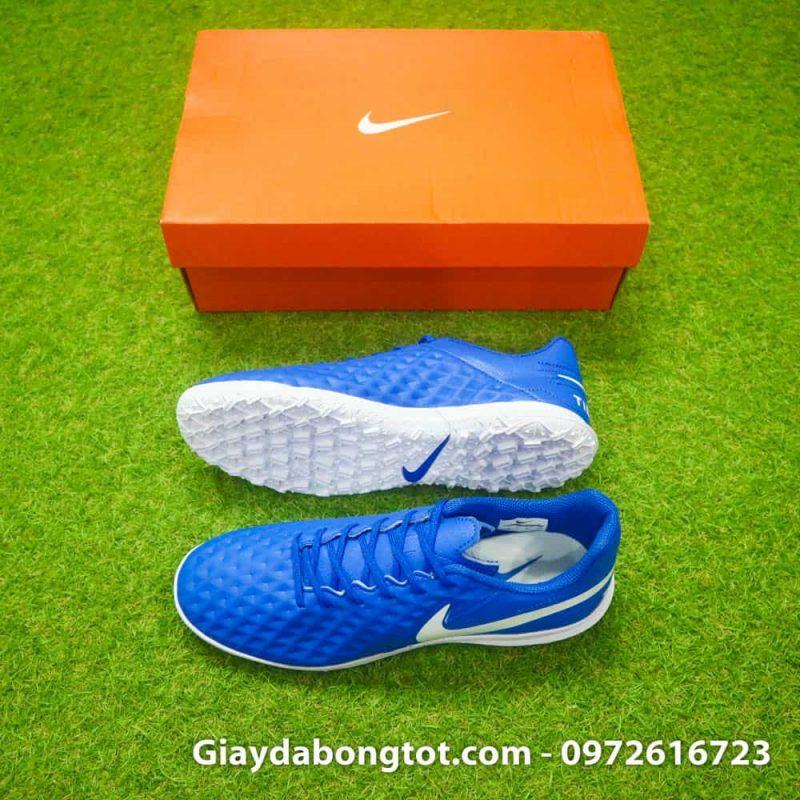 Giay da bong chan be Nike Tiempo 8 Pro TF xanh duong (2)