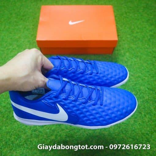 Giay da bong chan be Nike Tiempo 8 Pro TF xanh duong (4)