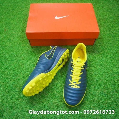 Giay da bong chan be Nike Tiempo Legend X 7 Pro mau xam den vang (3)