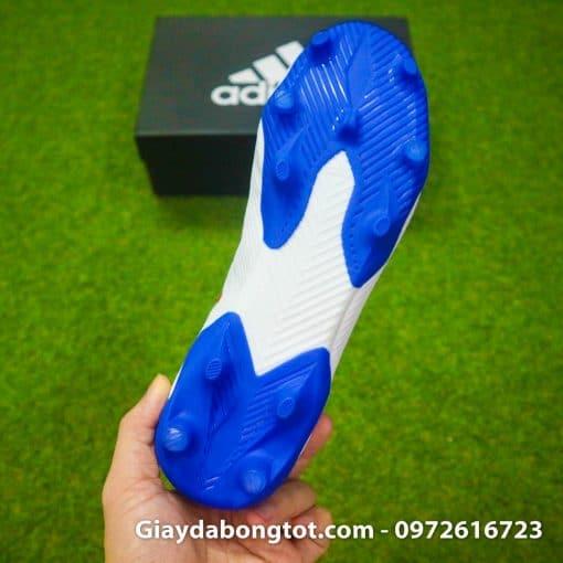 Giay da bong da mong Adidas Nemeziz 19.3 FG trang vach do (1)