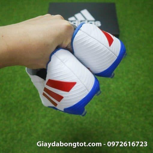 Giay da bong da mong Adidas Nemeziz 19.3 FG trang vach do (12)