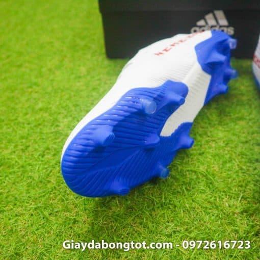 Giay da bong da mong Adidas Nemeziz 19.3 FG trang vach do (4)