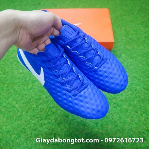 Giay da bong da san Nike Tiempo Academy FG xanh duong da san (6)