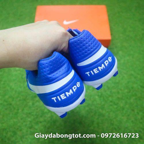 Giay da bong da san Nike Tiempo Academy FG xanh duong da san (7)