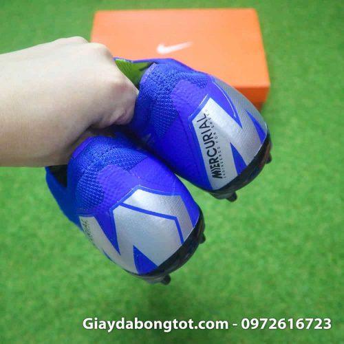 Giay da bong dinh sat Nike Mercurial Vapor XII SG mau xanh duong (13)