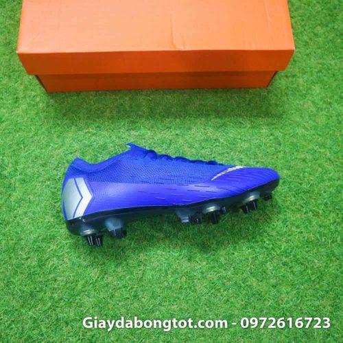 Giay da bong dinh sat Nike Mercurial Vapor XII SG mau xanh duong (16)