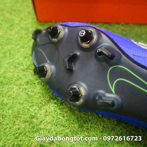 Giay da bong dinh sat Nike Mercurial Vapor XII SG mau xanh duong (19)