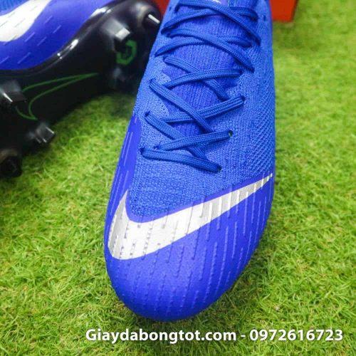 Giay da bong dinh sat Nike Mercurial Vapor XII SG mau xanh duong (5)