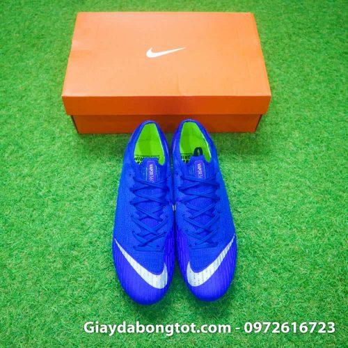 Giay da bong dinh sat Nike Mercurial Vapor XII SG mau xanh duong (6)