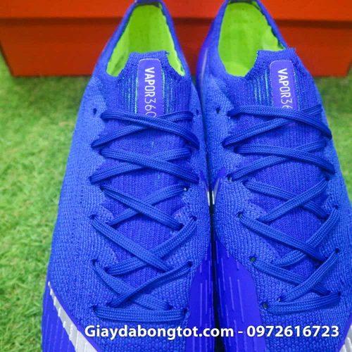 Giay da bong dinh sat Nike Mercurial Vapor XII SG mau xanh duong (7)