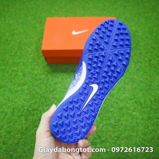 Giay da bong em chan Nike Phantom VNM TF xanh duong trang (1)