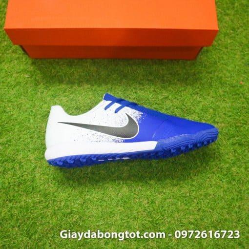 Giay da bong em chan Nike Phantom VNM TF xanh duong trang (5)