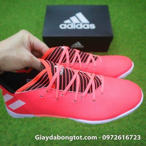 Giay da bong mau hong Adidas Nemeziz 19.3 TF da mem (7)