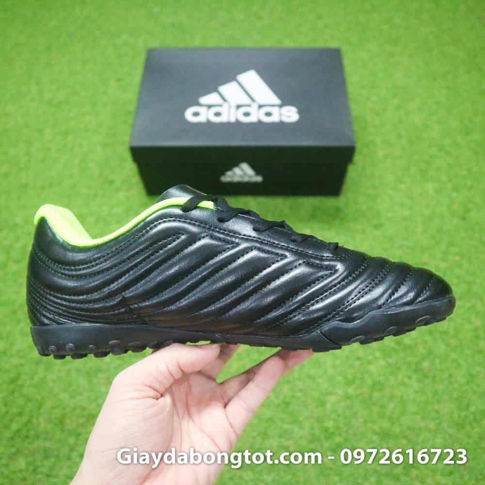 Giày đá bóng sân cỏ nhân tạo Adidas Copa 19.4 TF màu đen có trọng lượng siêu nhẹ và da mềm