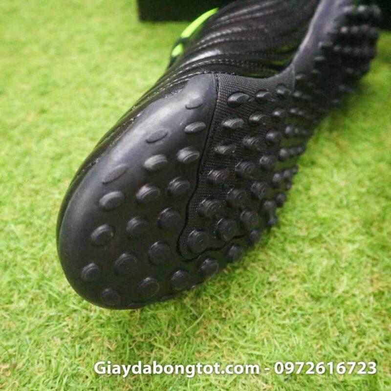 Giay da bong sieu nhe Adidas Copa 19.4 TF san co nhan tao mau den vach xanh (5)