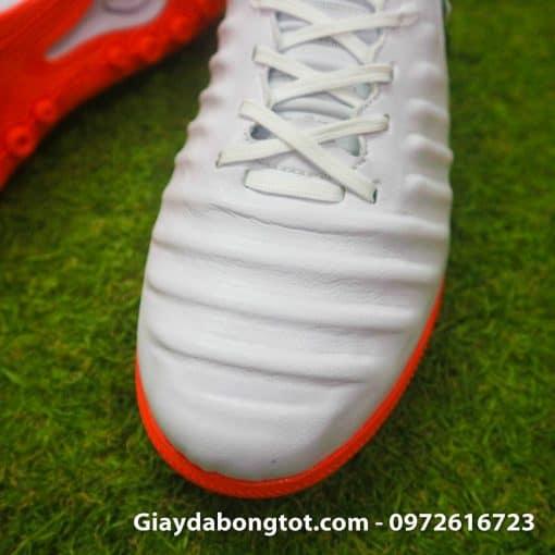 Giay da bong chan be Nike Tiempo Legend X 7 Pro mau trang cam 4