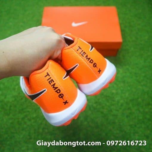 Giay da bong chan be Nike Tiempo Legend X 7 Pro mau trang cam 10