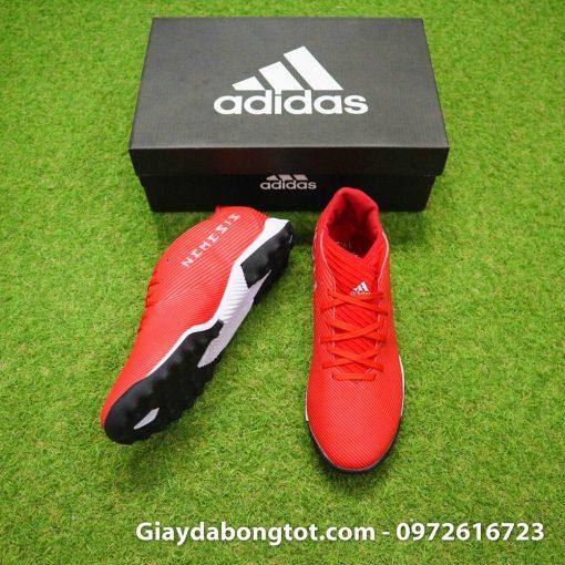 Form giày thoải mái giúp giày bóng đá Adidas Nemeziz 19.3 TF phù hợp với cả bàn chân bè mập