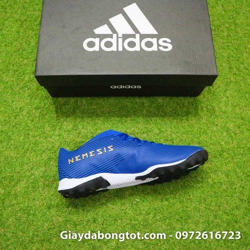 Giay da banh Adidas Nemeziz 19.3 mau xanh duong vach trang moi nhat (1)