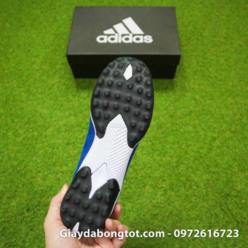 Giay da banh Adidas Nemeziz 19.3 mau xanh duong vach trang moi nhat (10)