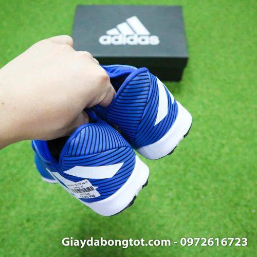 Giay da banh Adidas Nemeziz 19.3 mau xanh duong vach trang moi nhat (11)