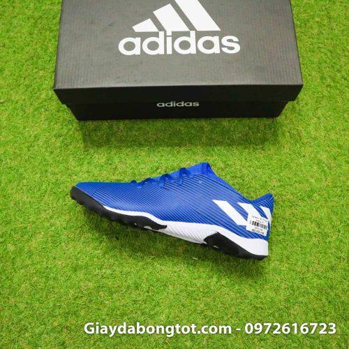 Giay da banh Adidas Nemeziz 19.3 mau xanh duong vach trang moi nhat (13)