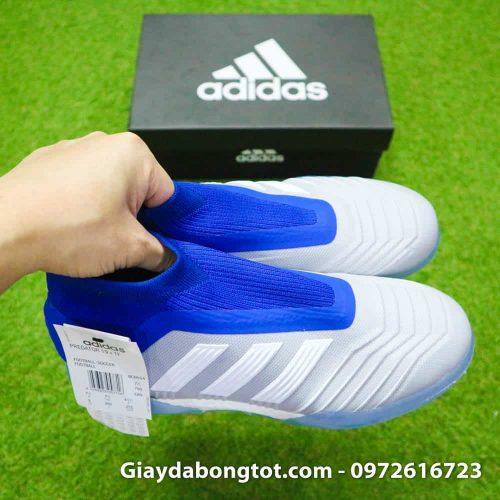 Giày Adidas Predator 19+ TF với thiết kế không dây buộc đẹp mắt