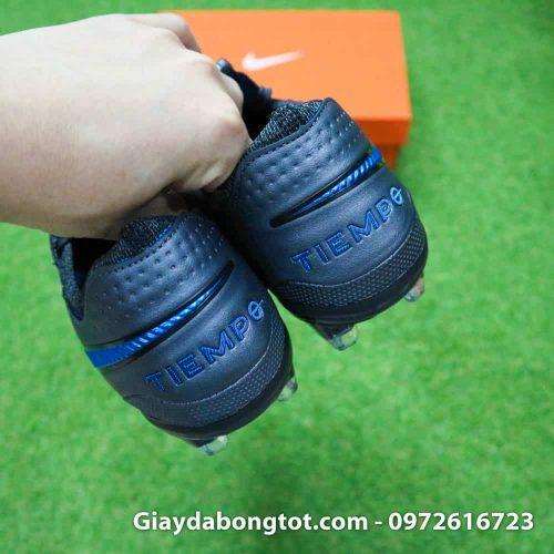 Giay da bong Nike Tiempo Legend 8 FG mau den da mem (16)