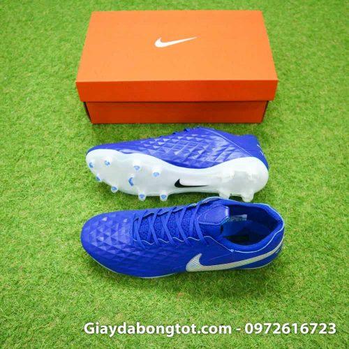 Giay da bong Nike Tiempo Legend 8 mau xanh duong New Light 2019 (2)