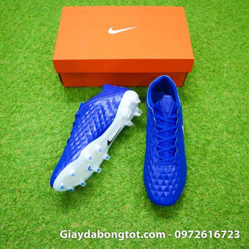 Giày đá banh Nike Tiempo Legend 8 FG với da giày được thiết kế mỏng nhẹ và chất lượng