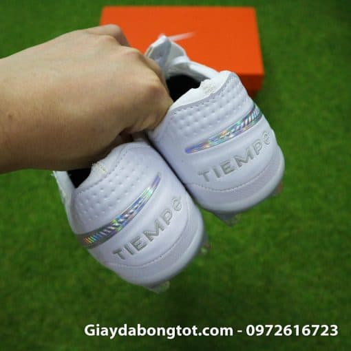 Giay da bong Nike Tiempo Legend VIII FG mau trang superfake (12)