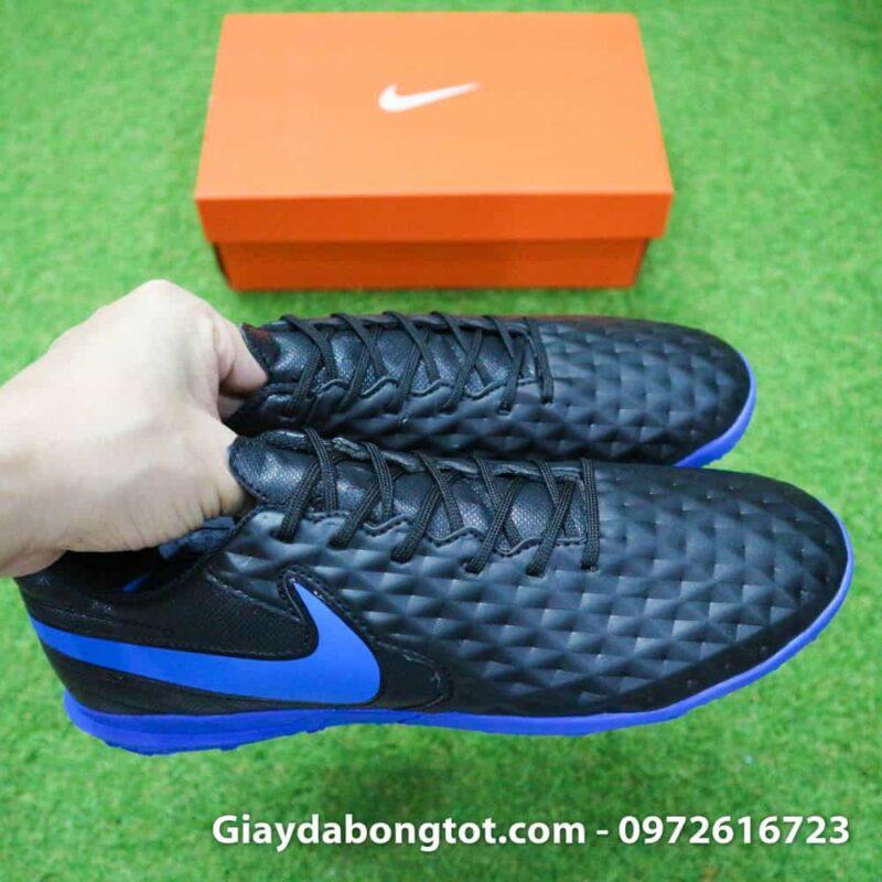 Giay da bong chan be Nike Tiempo 8 Academy TF den (6)